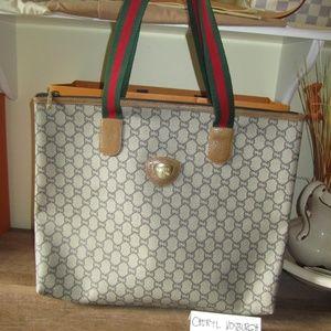 Vintage Gucci Plus Tote Bag